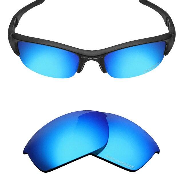 Mryok + Resistir POLARIZADA Lentes de Reposição para óculos Oakley óculos  de Sol Flak Jacket Água e0d9b77623