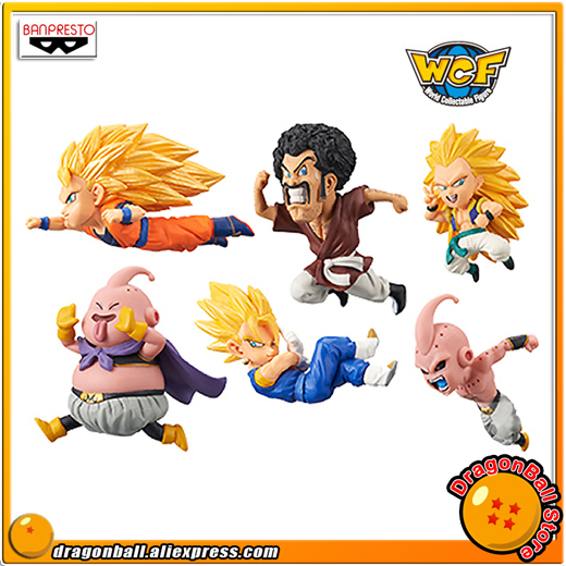 Dragon Ball Z Original BANPRESTO World Collectable Figure / WCF The Historical Characters Vol.3 Figure - Full Set of 6 Pieces original banpresto world collectable figure wcf the historical characters vol 3 full set of 6 pieces from dragon ball z