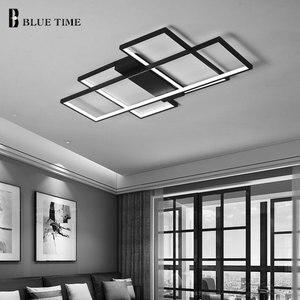 Image 2 - מודרני LED תקרת אור סלון חדר שינה חדר אוכל אור גופי Led נברשת תקרת מנורת מנורות בית תאורה