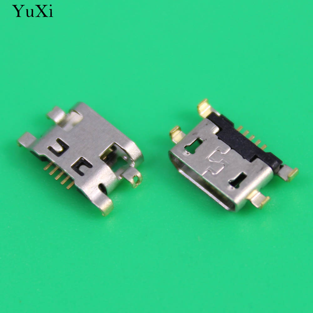 YuXi For <font><b>Alcatel</b></font> <font><b>6035R</b></font> Idol S 4033 4033D POP C3 micro usb charge charging connector plug dock socket charger port image