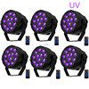 6pcs Pcs DHL Free Shipping 36W UV Led Stage Light Remote Conrtol Ultraviolet Led Par Light