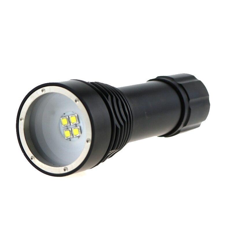 D34vr Vidéo Xcree Lampe Poche Marine Plongée De 5000 Lumen Sous 4 QCxrdhBtso