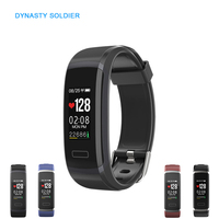 Smart Watch Fitness Bracelet Color Screen Blood Pressure Heart Rate Monitoring Time Tracker Pedometer Clock Smart Wristband