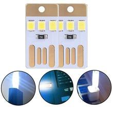 Usb Table Lamp Power Bank Book Night Light Novelty Bulb LED USB Reading Compatible Mobile etc