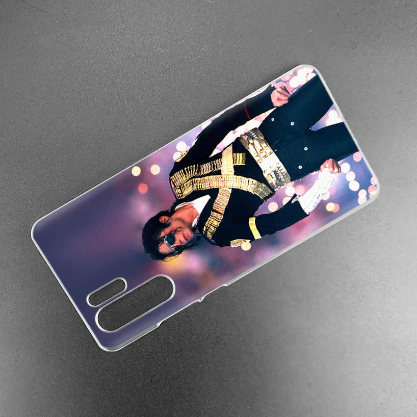 Michael Jackson tańca etui na Huawei P20 P30 P inteligentne 2019 Nova 4 3i P10 P9 P8 Mate 10 20 lite Pro mini 2017 twarde etui na telefon z poliwęglanu