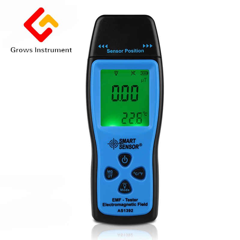 Digital Electromagnetic Radiation Detectors Mini EMF Tester LCD Radiation Dosimeter Tester Handheld Electrical Instruments household radiation test pen electromagnetic radiation tester sound and light alarm test pen detection measuring tools