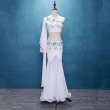 2017New עיצוב למעלה כיתה גבוהה איכות בטן/בטן ריקוד תלבושות/בטן ריקוד ללבוש נשים תחרה בטן ריקוד שמלה