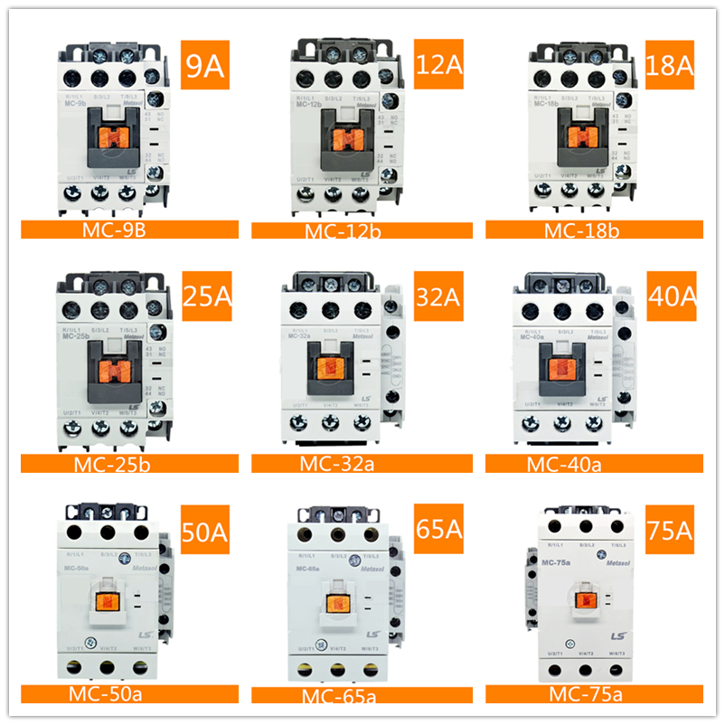 High Quality Electromagnetic AC Contactor GMC(D)-9/12/18/22/32/40/50/65/75/85 GMC-40 GMD-40