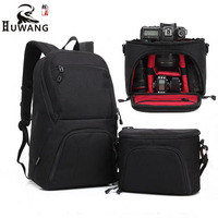HUWANG Camera Bag Large Capacity Combinable Travelling Camera Bag Anti Theif Digital Camera Backpack