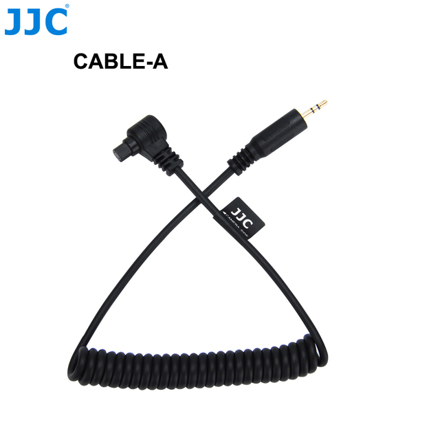 JJC Cameras Remote Connecting Cord Shutter Release Cable Adapter for Canon EOS 1D Mark II/EOS 6D/EOS 5D Mark II/EOS 7D Mark II/