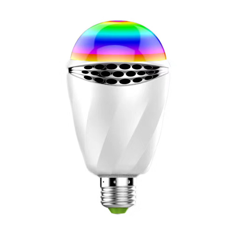 E27 RGB LED BULBS Smart Voice Control LED lIGHT Without Connect Bluetooth or Wifi Control For LED Smart Desk lamp Bedroom Light icoco sound control light 3w e27 light bulb voice activated intelligent led sensor lamp small night light for corridor bedroom