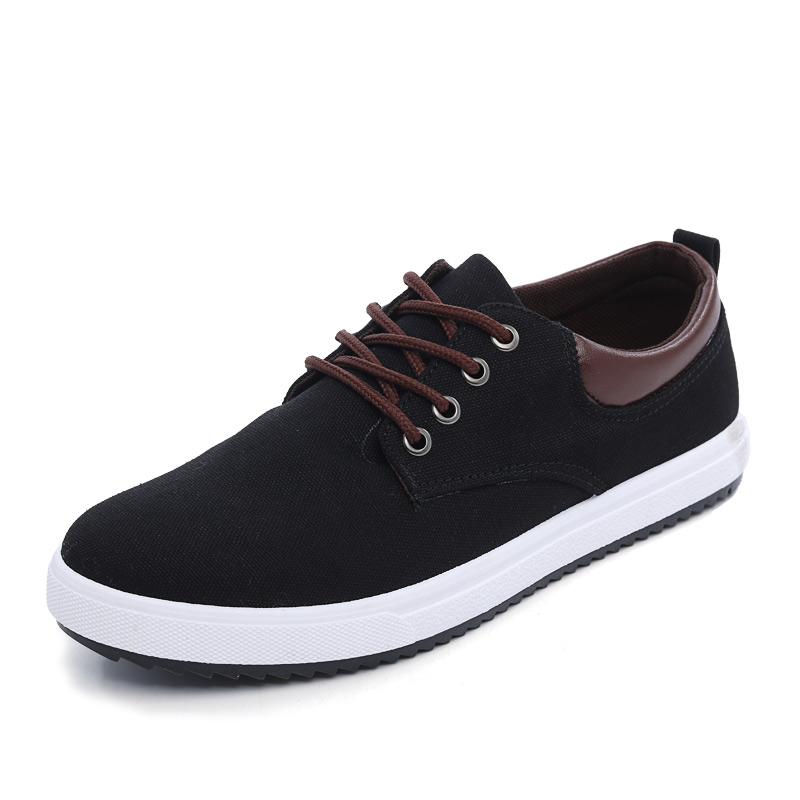 Hot 2018 Spring Summer Wholesale Mens Casual Canvas Shoes British Fashion Lace-Up Lightw ...