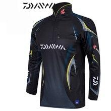 2018 Swimsuit DAYIWA Clothes Anti-UV Jacket Fishing Garments Coat Fast Dry Fishing Shirts Camisas Pesca Breathable Free Shpping