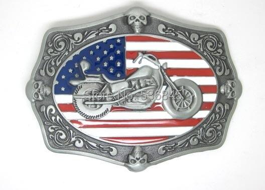 Amérique BIKERS etats-unis FLAG boucles de ceinture