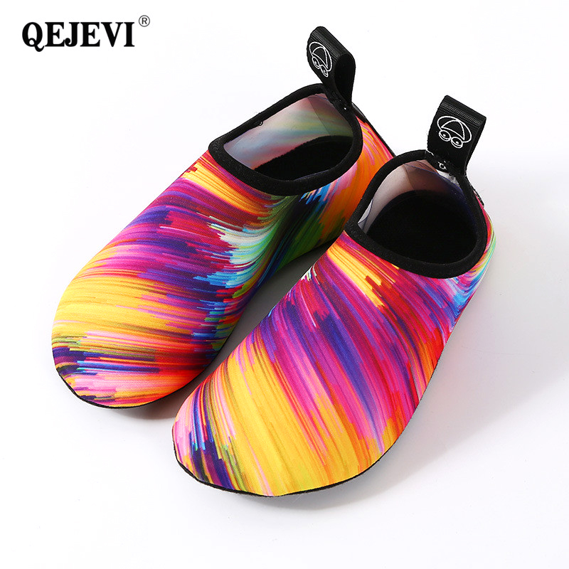 2b457b2fdf QEJEVI Cute Water Shoes Women Men Aqua Beach Swim Shoes Rivers Best Water  Wet Shoes Yoga Wading Surfing Barefoot Skin Footwear