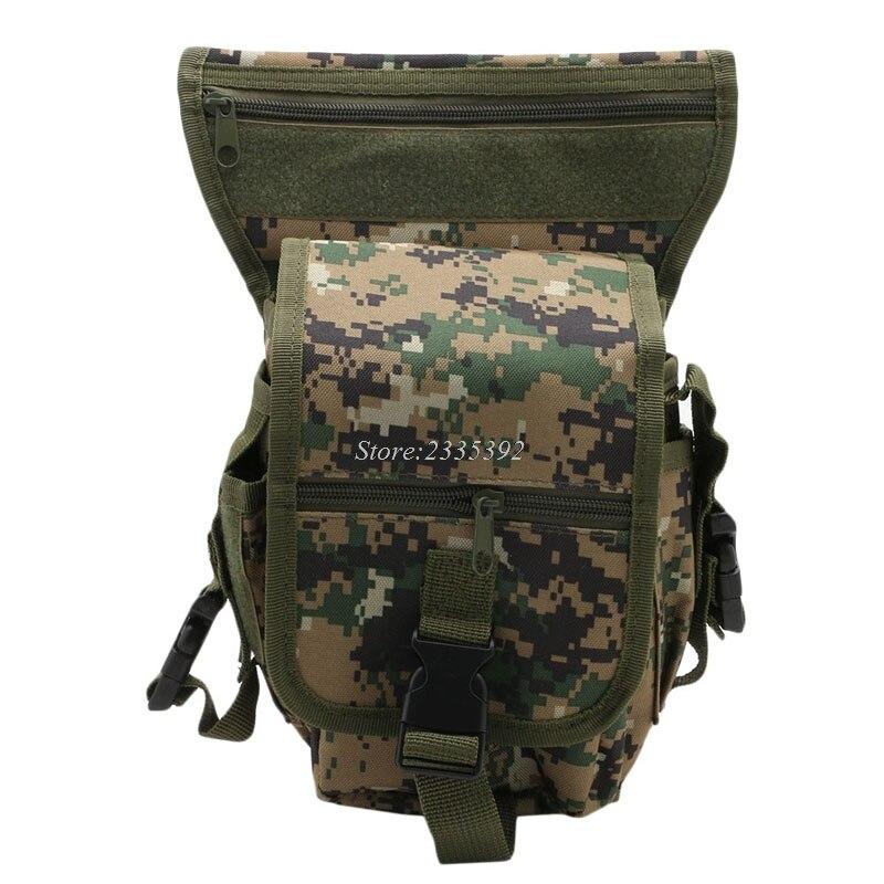 Prix pour Tactique Militaire Jambe Sac Utilitaire de Taille Ceinture Poche Pack Sac de Téléphone Sac À Main En Plein Air