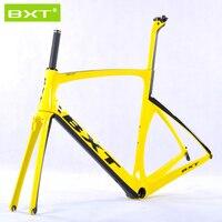 BXT2016 Brand Chinese Carbon Frames Super Light Aero Design Carbon Road Frame BSA PF30 Racing Bike