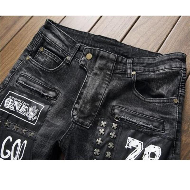 2018 US/EU style new men jeans denim fear of god jeans high quality fashion jeans men #550-4