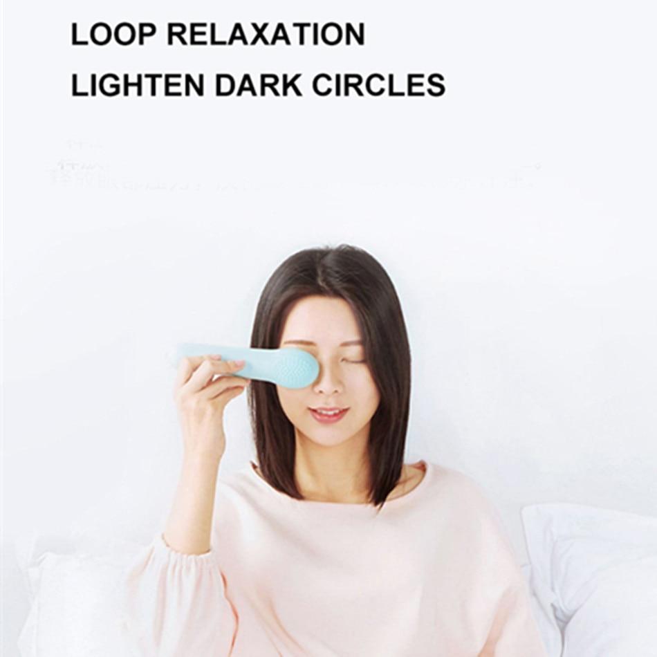 LF глаз горячий и холодный двойной массажер снимает усталость Массажер протектор