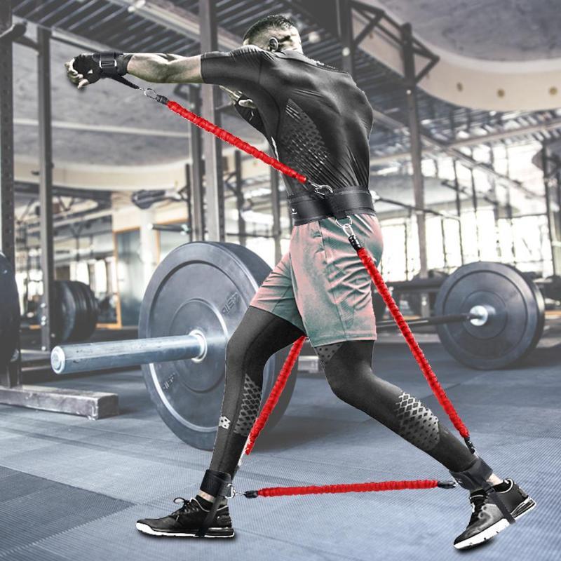 équipement d'entraînement Fitness résistance bandes