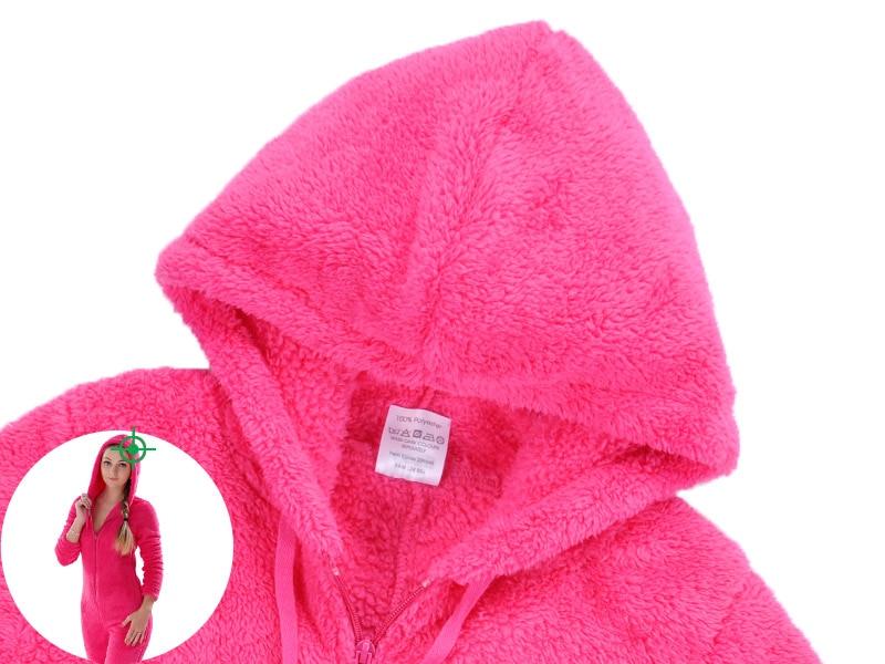 Adults Plus Size Onesie Pink Rose Red Pajama Sets Girls Autumn Winter Fleece Warm Hooded Onesie Sleepwear For Women Teenagers ab