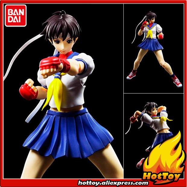 100% Original BANDAI Tamashii Nations S.H.Figuarts SHF Action Figure - Sakura Kasugano from Street Fighter IV