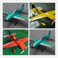 New Colour Scheme Model Plane MXS R 64 20cc Gas 6 Channels ARF RC Airplane