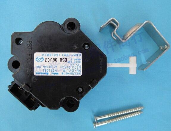 Washing machine parts XQB50-851A QXD22-5/PQ-5 drain tractor washing machine parts aluminum housing capacitor 5 uf