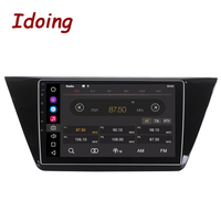 Idoing 1Din 10.2inch Android8.0 For VW Touran 2016 Car Android Radio GPS Multimedia Player 8Core 4G+32G Built in GPS and GLONASS