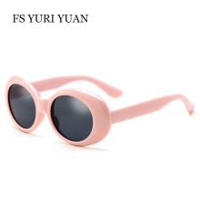 FS YURI YUAN Clout Goggles Women Men Kurt Cobain Glasses UV400 2017 New Fashion Sunglasses Brand Designer Best Selling oculos