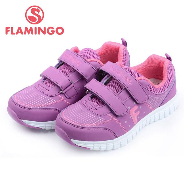 FLAMINGO 100% Russa Famosa Marca 2015 Novo Chegada da Primavera & Outono Crianças Moda De Alta Qualidade sapatos NK5623