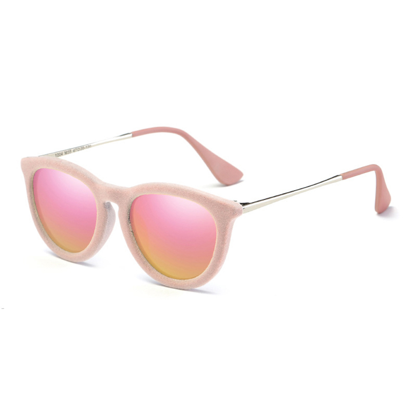 LAOKE Child Round Photochromic Sunglasses Kid Infant Girl Polaroid Sun Glasses Outdoor  WD1004 ralferty tr90 flexible kids sunglasses polarized child baby safety coating sun glasses uv400 eyewear shades infant oculos de sol