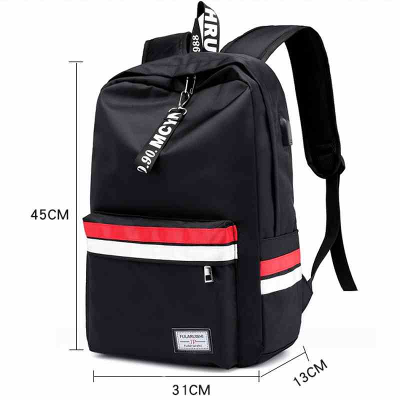 SAFEBET Brand 2018 New Fashion Multifunction USB charging Men 15inch Laptop Travel Large Capacity Waterproof Backpacks Mochila