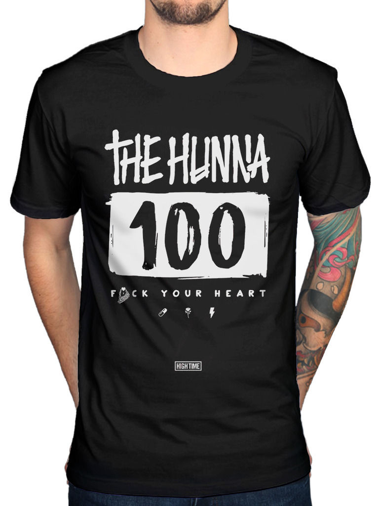 The Hunna 100 T-Shirt Rock Band Merchandise Bonfire We Could Be Album Loose top tee