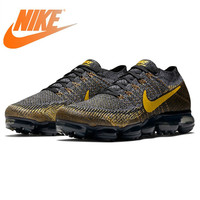 Original Authentic Nike Air VaporMax Flyknit Men's Running Shoes Outdoor Sneakers Classic Breathable Sports Shoes New 849558 009