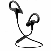 Portable Bluetooth Headset Earphones Headphones Wireless Handsfree Mic Stereo Music Sports Bluetooth Headset For Android IPhone
