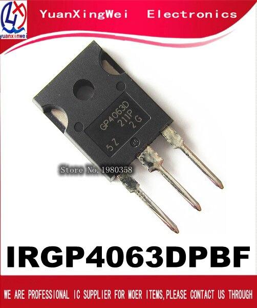 Free shipping 10pcs/lpt IRGP4063D IRGP4063DPBF GP4063D IRGP4063 IGBT 600V 96A 330W TO 247
