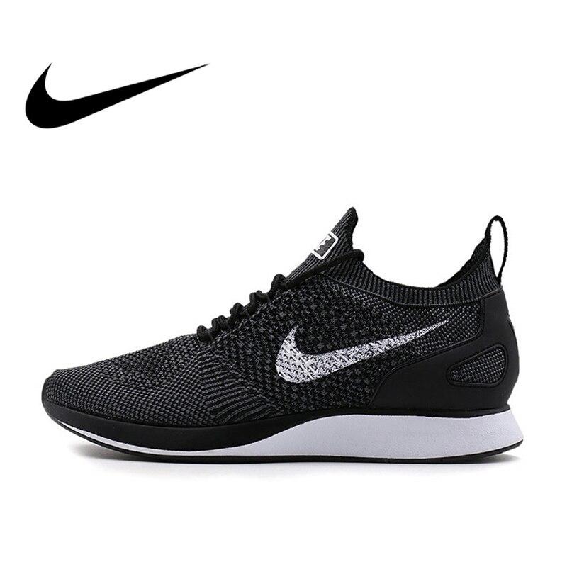 Оригинальные мужские кроссовки NikeAIR ZOOM МЭРАЙИ FLYKNIT кроссовки для бега дышащие с низким берцем