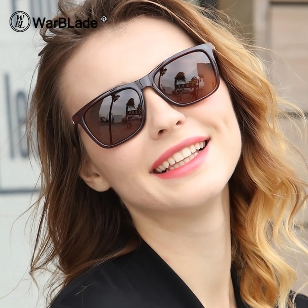 WarBLade Men's Polarized Square Sunglasses Brand Designer UV400 Protection Shades Oculos De Sol Women Glasses Driver 2018 New