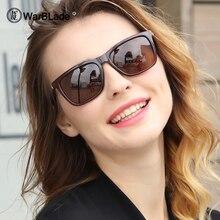 WarBLade Men's Polarized Square Sunglasses Brand Designer UV
