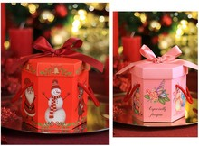 20pcs Christmas Eve apple,candy gifts boxes