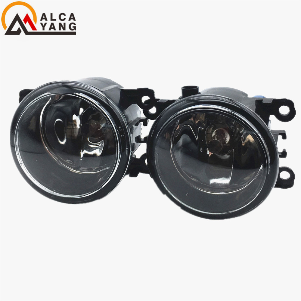 Malcayang For Suzuki Grand Vitara 2 JT 2005-2015 Car styling front bumper LED fog Lights high brightness fog lamps 1set malcayang fog lights for polo 12v 55w h11 1 set car styling halogen for lexus rx350 awd 2009 2013