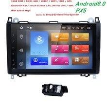 2din Android 8 0 Octa Core font b Car b font NODVD For Benz Sprinter W169