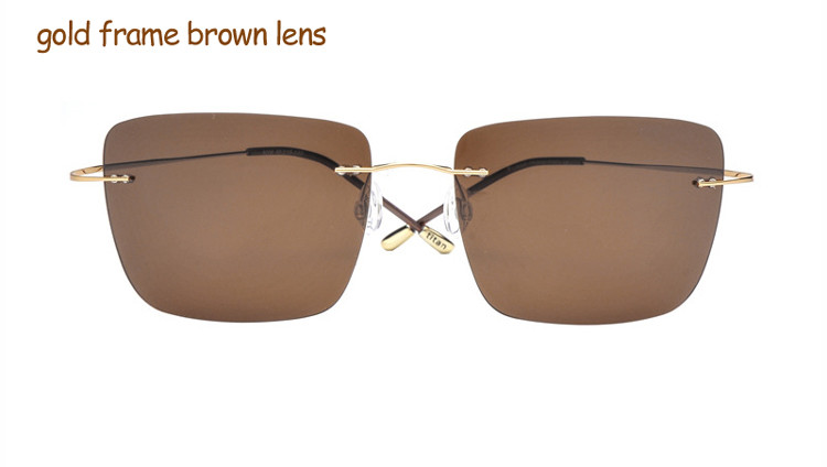 gold frame brown lens1
