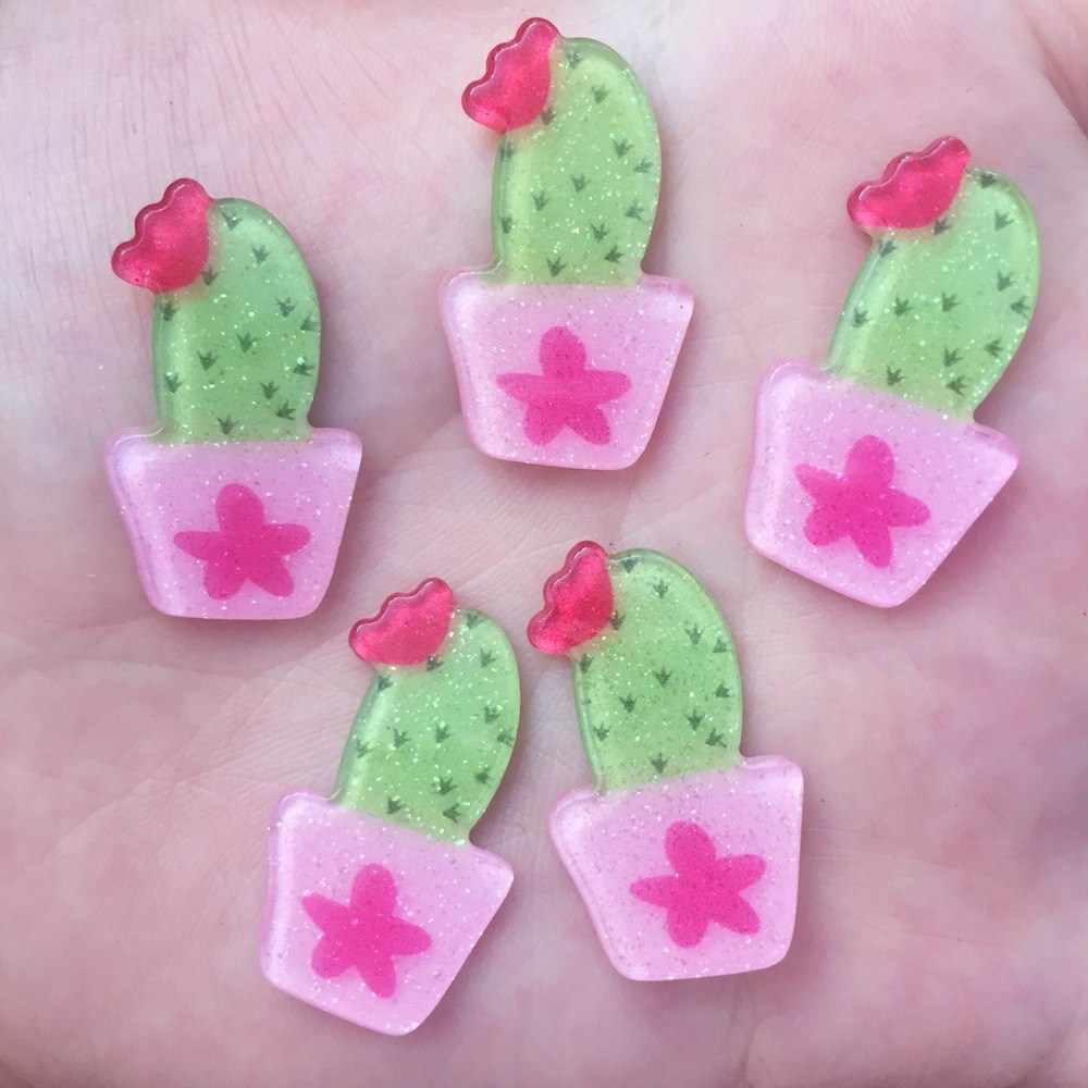 Glitter Pink Unicorn Flat back Acrylic sheet Miniature