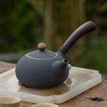 TANGPIN japan ceramic teapot side handle tea pot chinese kung fu tea sets drinkware 220ml tangpin coffee and tea tools beauty yixing purple clay tea strainers kung fu tea accessories