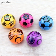 2PCS Football Style Pencil Sharpener Kawaii Stationery Cartoon Cute Ball Sharpeners Office Students Gift Student Supplies tenwin electric pencil sharpener kawaii automatic pencils sharpeners for kids knives cute stationery office school supplies