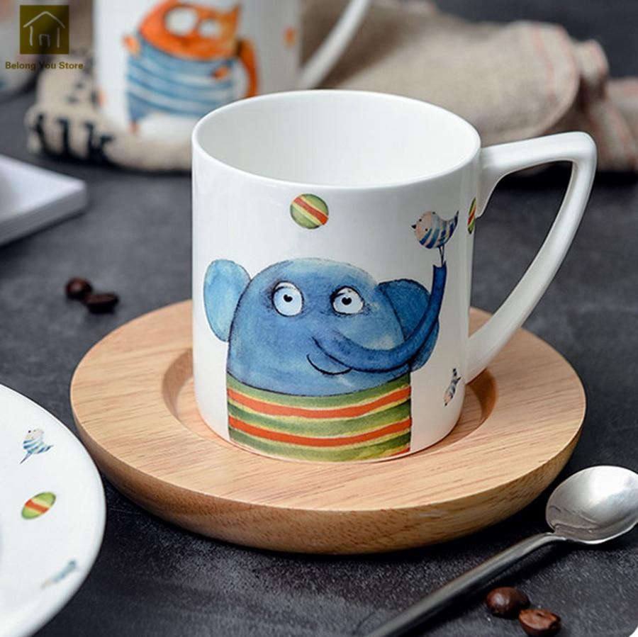 Mugs Home & Garden Creative Ceramic Cover Mug Lid Outdoor Novelty Large Tea Mugs Coffee Cup Sublimation Caneca Criativa Home Decoration Wkd019