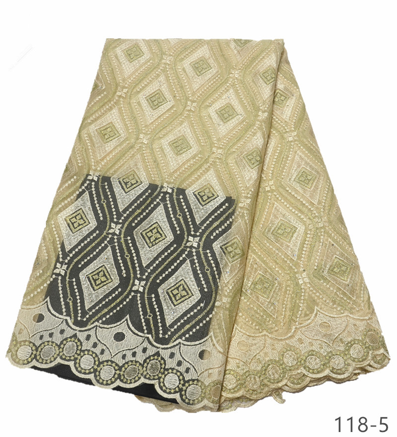 African Tulle Lace Fabric With stones 2019 African French Lace Fabric High Quality Nigerian Embroidery Tulle French Lace 118 in Lace from Home Garden