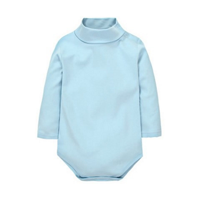 12-Color-Baby-Clothes-0-24M-Newborn-baby-boy-girl-clothes-Jumpsuit-Long-Sleeve-Infant-Product-solid-turtleneck-Baby-Rompers-5
